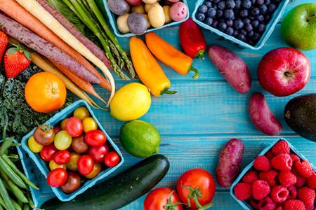 اهمیت میوه وسبزی جات