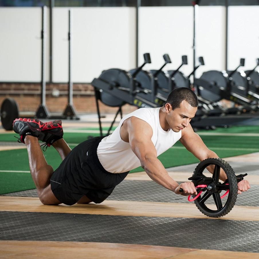 چرخ تمرین شکم قدرتی